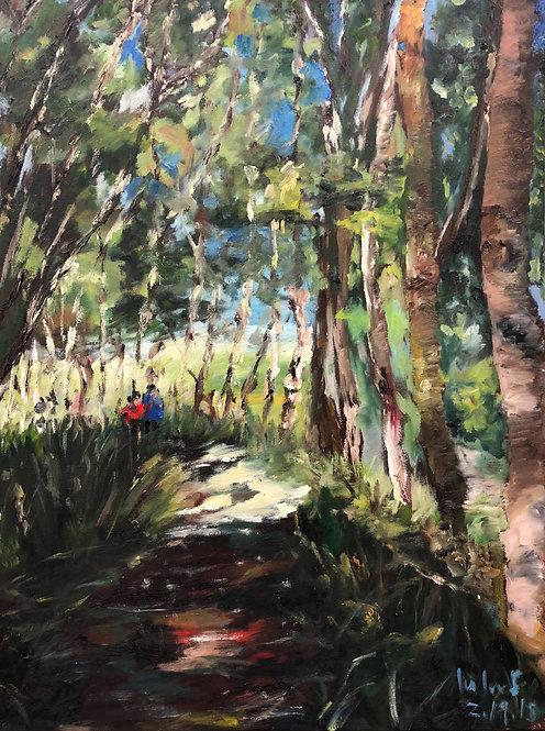 """Woodland"" Art Print"