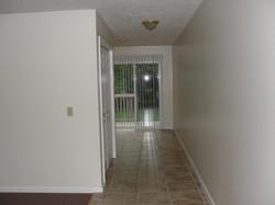 hallway down to kitchen