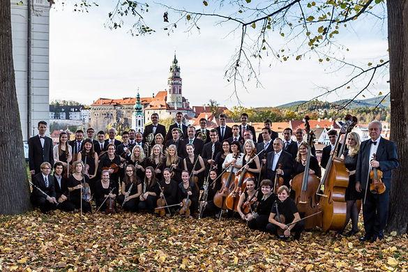 NordwaldKammerorchester, Konzert in Krumau Oktober 2014