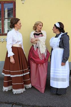 Hedwig, Karoline und Fanni