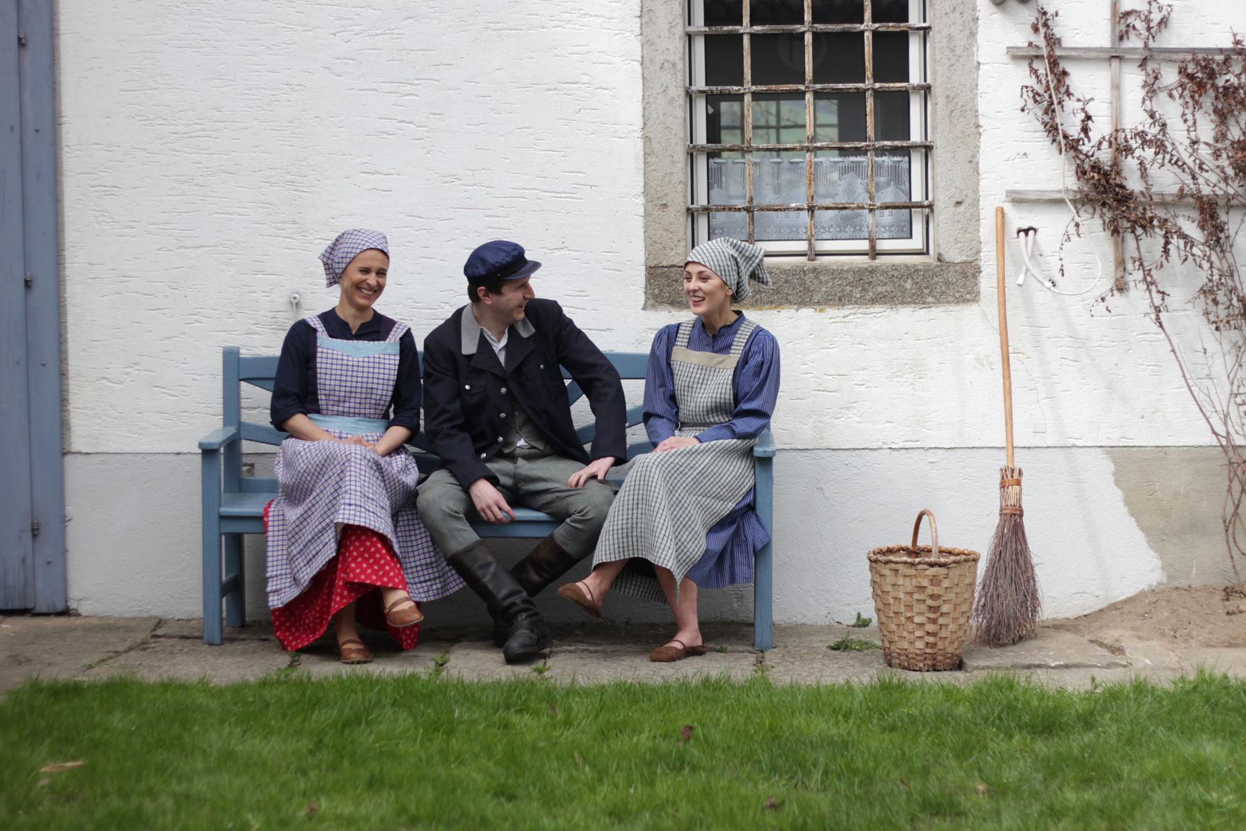 Nanni, Franz und Zenzi