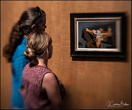 Dali Museum viewing Christ