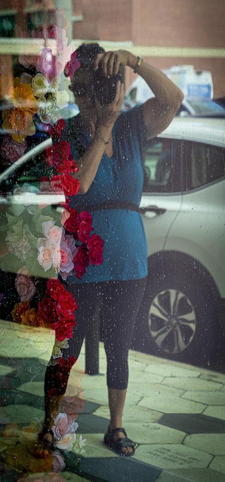 Christina taking pics in Ybor City