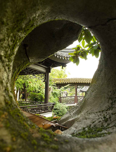 Chinese Gardens at Portland, OR