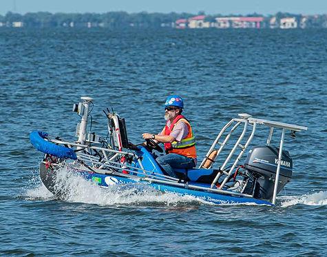 Skiff on Tampa Bay Harbor Tour, Tampa FL