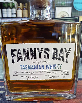 Fannys Bay Tasmanian Whisky