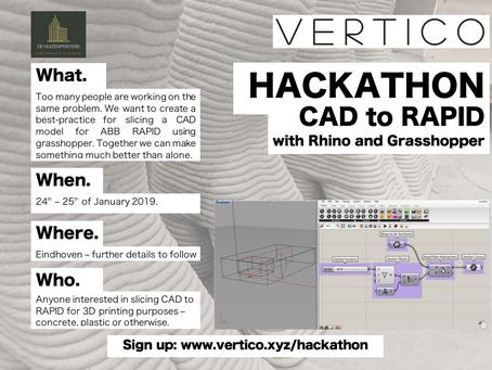 Hackathon CAD to CODE
