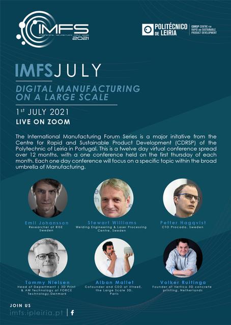 Presenting on Digital Manufacturing