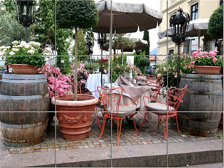 Кафе в Caldaro