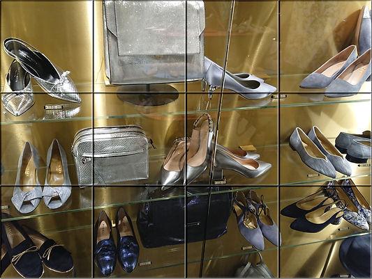 Витрина с обувью