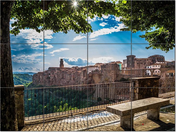 Pitigliano, Toscana