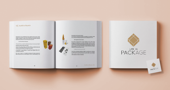 """Grafica per """"Life in PackAge"""""""