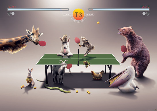 Animal Party - Ping Pong. Tokyo, Giappone.