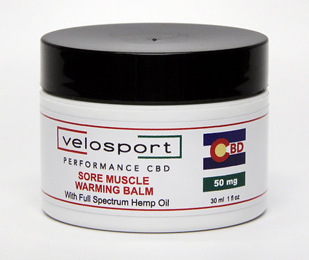 Sore Muscle Warming Balm