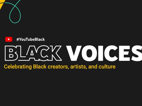 YouTube announces their first #YouTubeBlack Voices participants. (article courtesy Falcon.io)