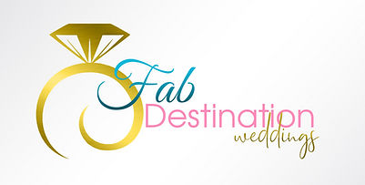 Fab Destination Weddings Official Logo (
