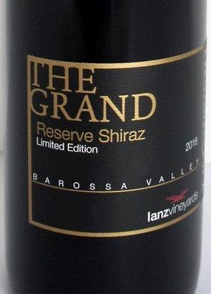 THE GRAND Reserve Shiraz 2016