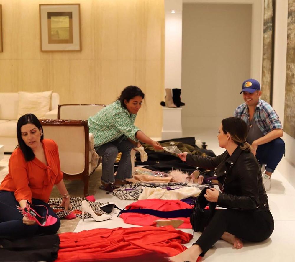 Ana Paula Lima, Tâmara Guzman, Thiago Setra, Sarah Schulz