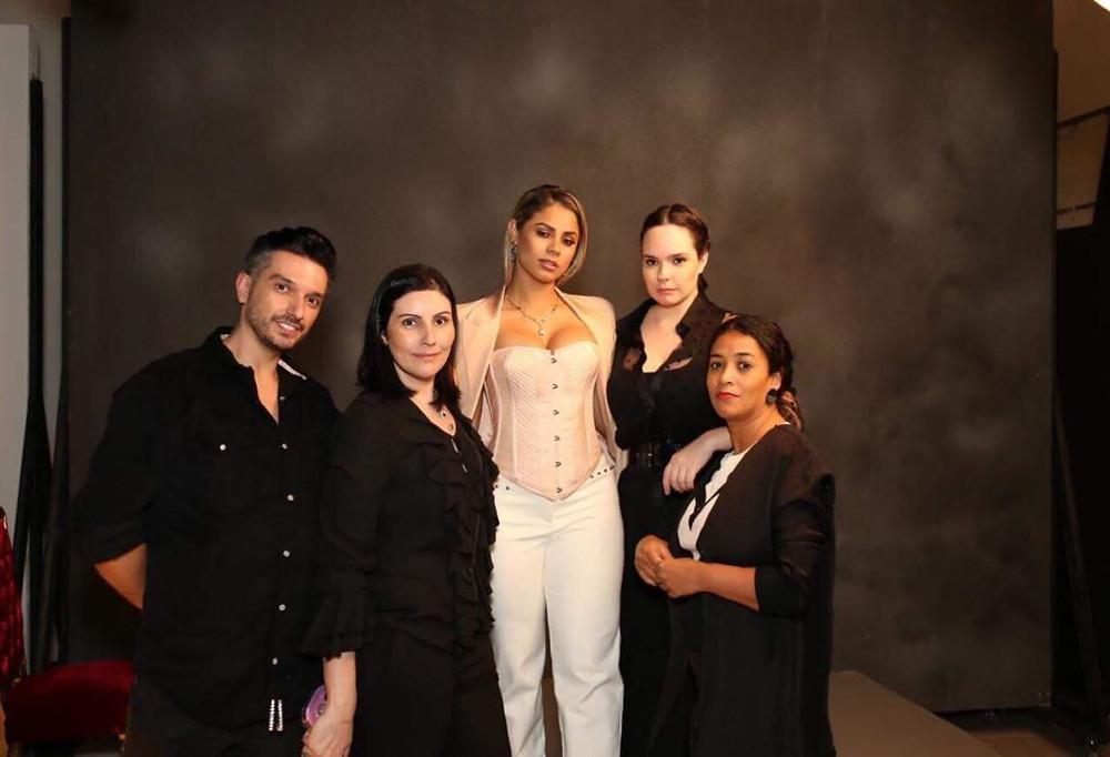 Thiago Setra, Ana Paula Lima, Lexa, Sarah Schulz, Tâmara Guzman