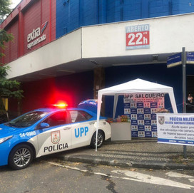(DOAÇÕES COVID19) A UPP SALGUEIRO/RJ INICIOU A CAMPANHA DE ARRECADAÇÃO DE ALIMENTOS E ITENS DE HIGIE