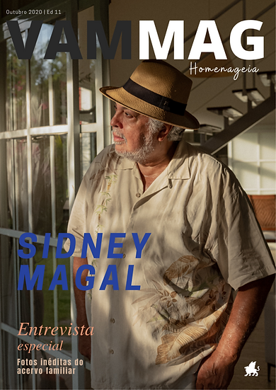Sidney Magal. Out/2020