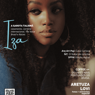 IZA, ARETUZA LOVI: AS estrelas VAM Magazine de novembro