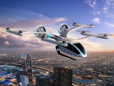 Embraer apresenta carro voador elétrico