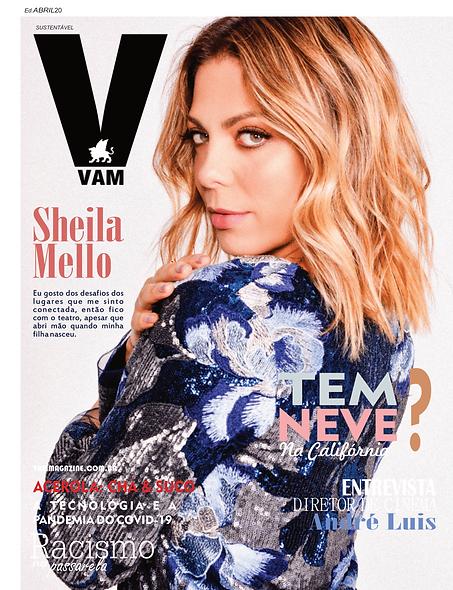 Sheila Mello. Edição abril/2020.