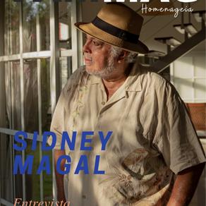 Sidney Magal na VAM Magazine: Nosso sangue ferve por você.                       Ed. Out.