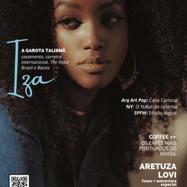 No ar: edição de novembro VAM Magazine – IZA, Aretuza Lovi
