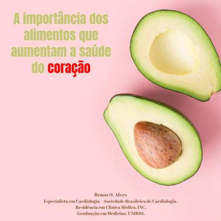 A importância dos alimentos que aumentam a saúde do coração