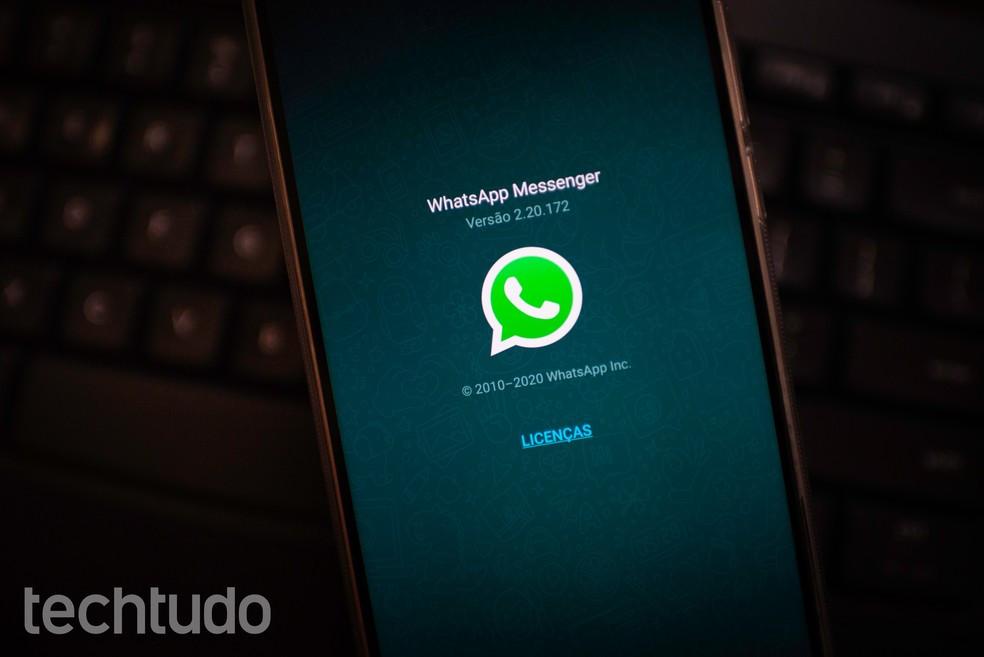 WhatsApp lança função pagamentos no Brasil — Foto: Rubens Achilles/TechTudo