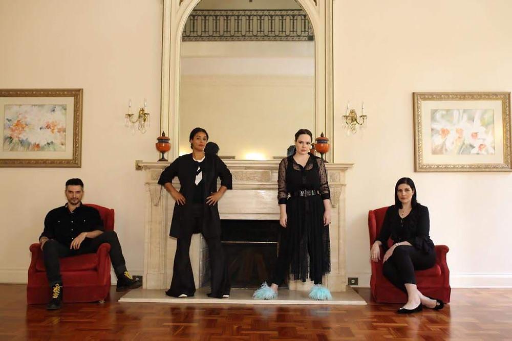 Thiago Setra, Tâmara Guzman, Sarah Schulz, Ana Paula Lima