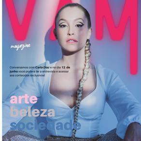 INSHALÁ E MUITO OURO! A atriz Carla Diaz é a capa VAM Magazine de junho