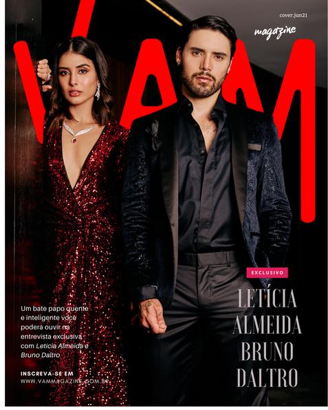 Letícia Almeida e Bruno Daltro, VAM Magazine,cover.png