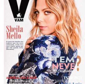REVISTA VAM MAGAZINE COM SHEILA MELLO