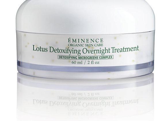 Eminence Organics Lotus Detoxifying Overnight Treatment