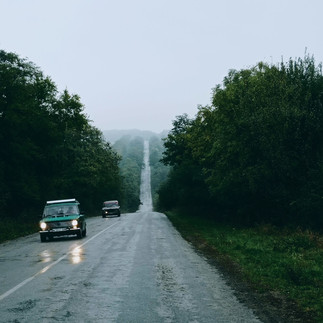 Дорога в тумані
