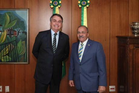 """""""Não existe mais corrupção no governo"""", afirma Bolsonaro"""