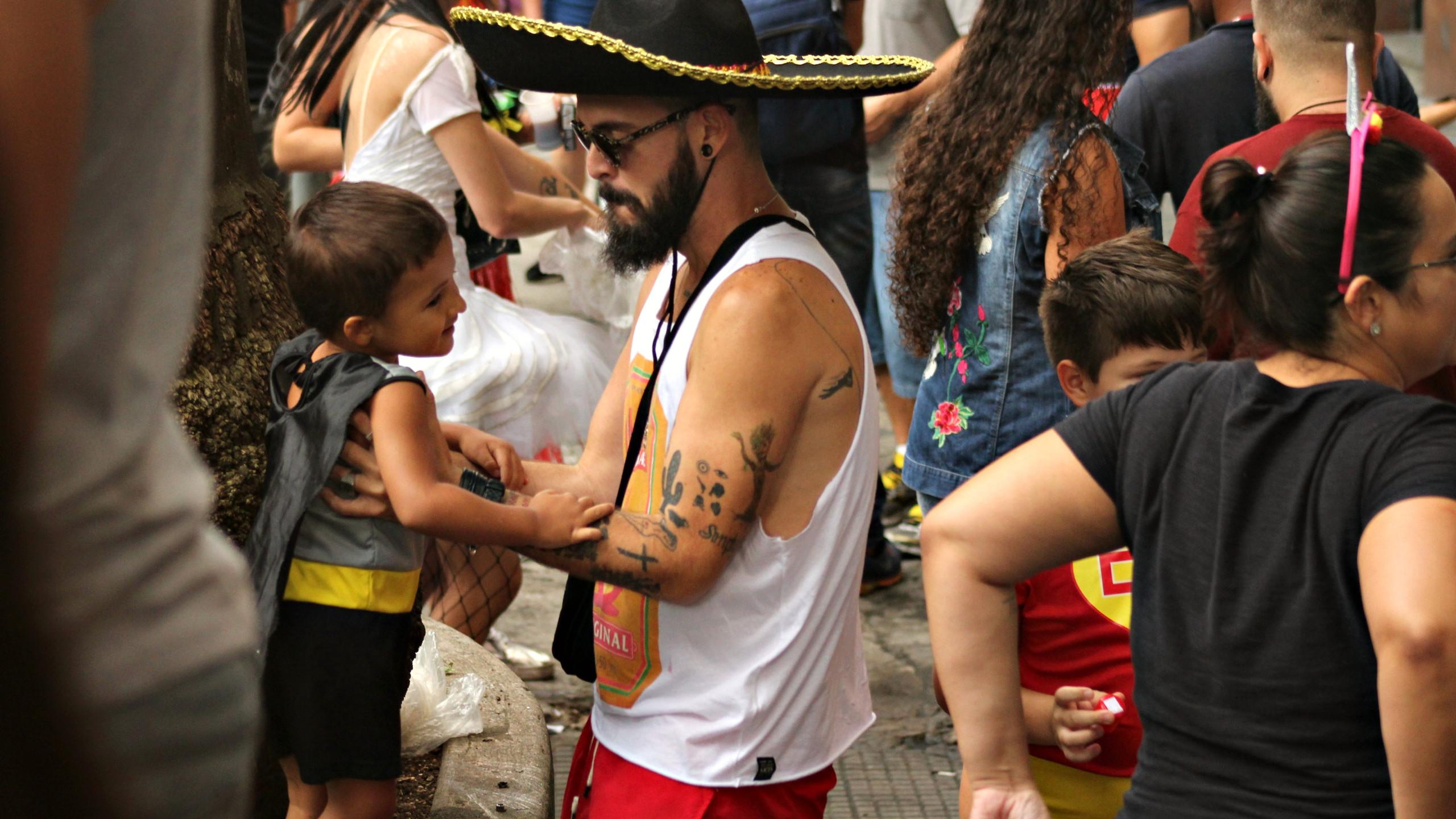 Carnaval em família