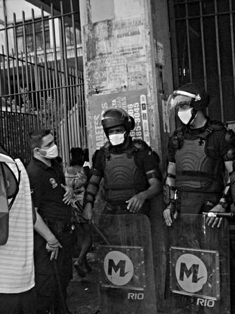 Ato contra o aumento da passagem, Rio de Janeiro,  18.02.21 - J.Lee