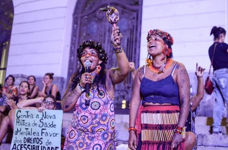 Fotogaleria do 8 de março no Rio de Janeiro