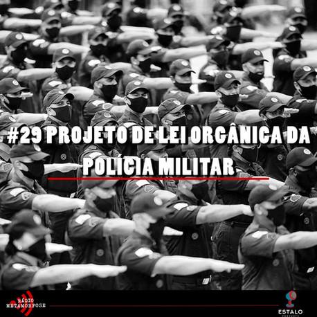 #29: Projeto de lei orgânica da Polícia Militar