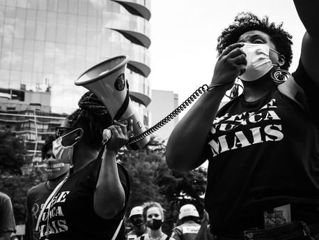 Protesto sofre censura em São Paulo