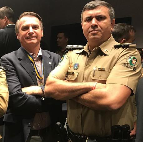Coronel linha-dura ocupa cargo no Paço Municipal