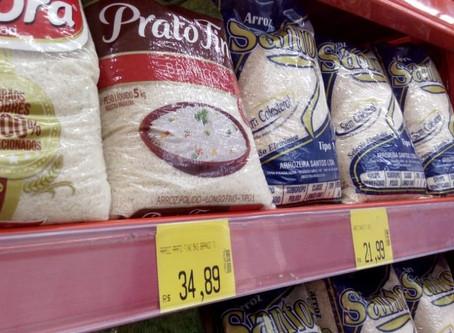 Alta no preço de alimentos