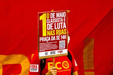 Protesto em São Paulo gera desesperança