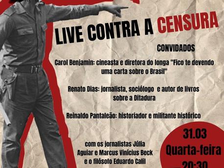 Live contra a censura