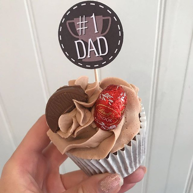 Father's Day cupcakes available all week