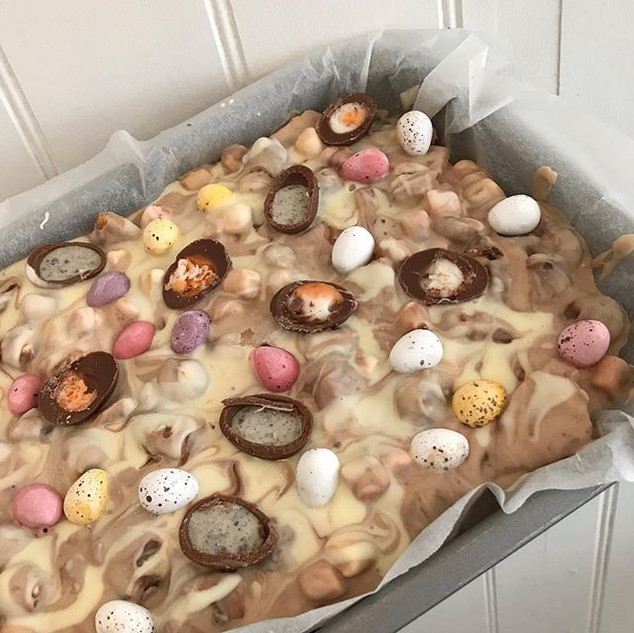 Easter rocky road ready for the weekend